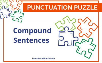 Compound Sentences (Punctuation Puzzle)