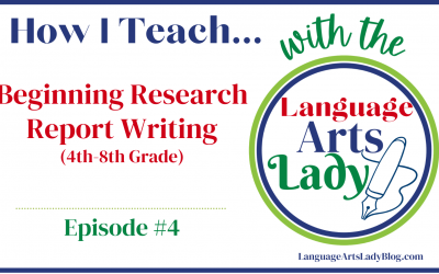 How I Teach… Beginning Research Report Writing (Episode #4)